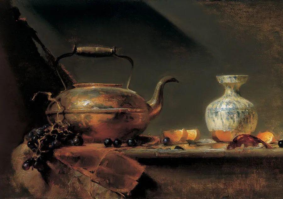 他的古典写实让人神往,美国画家戴维·莱菲尔插图17