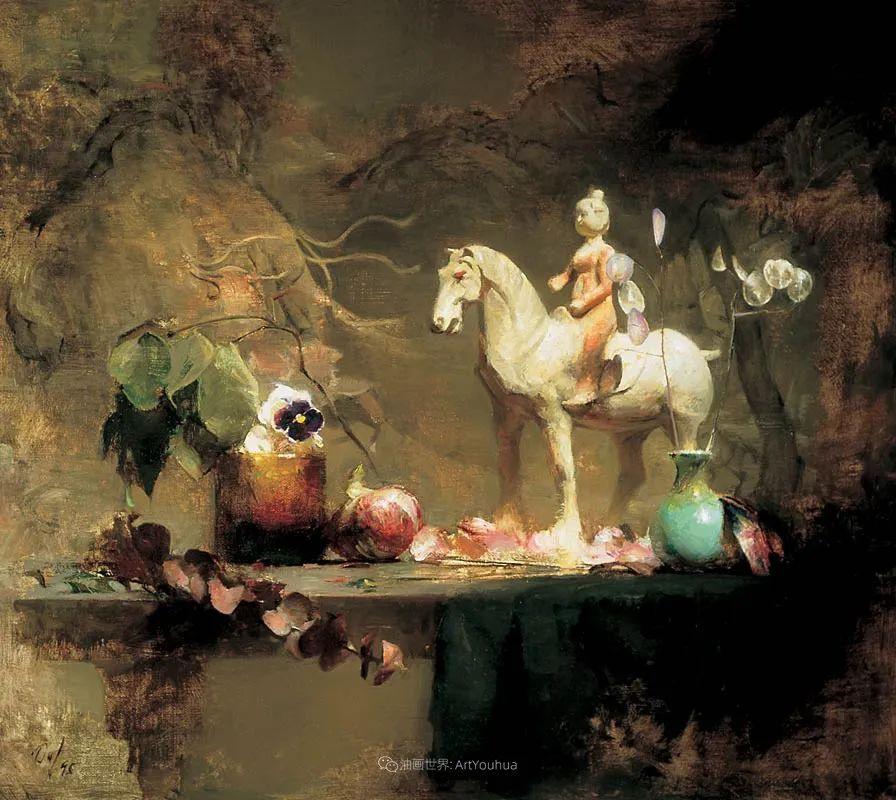 他的古典写实让人神往,美国画家戴维·莱菲尔插图19
