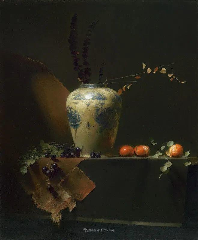 他的古典写实让人神往,美国画家戴维·莱菲尔插图25