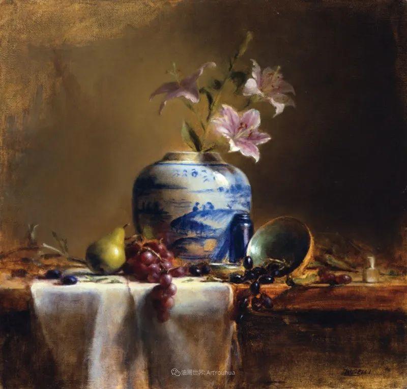 他的古典写实让人神往,美国画家戴维·莱菲尔插图47