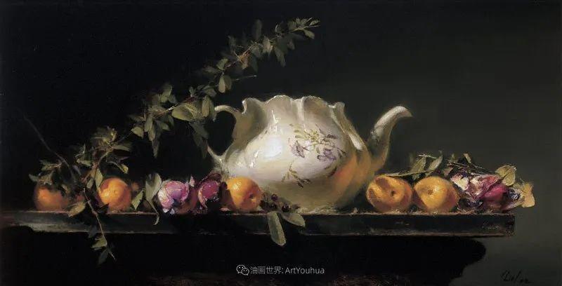 他的古典写实让人神往,美国画家戴维·莱菲尔插图49