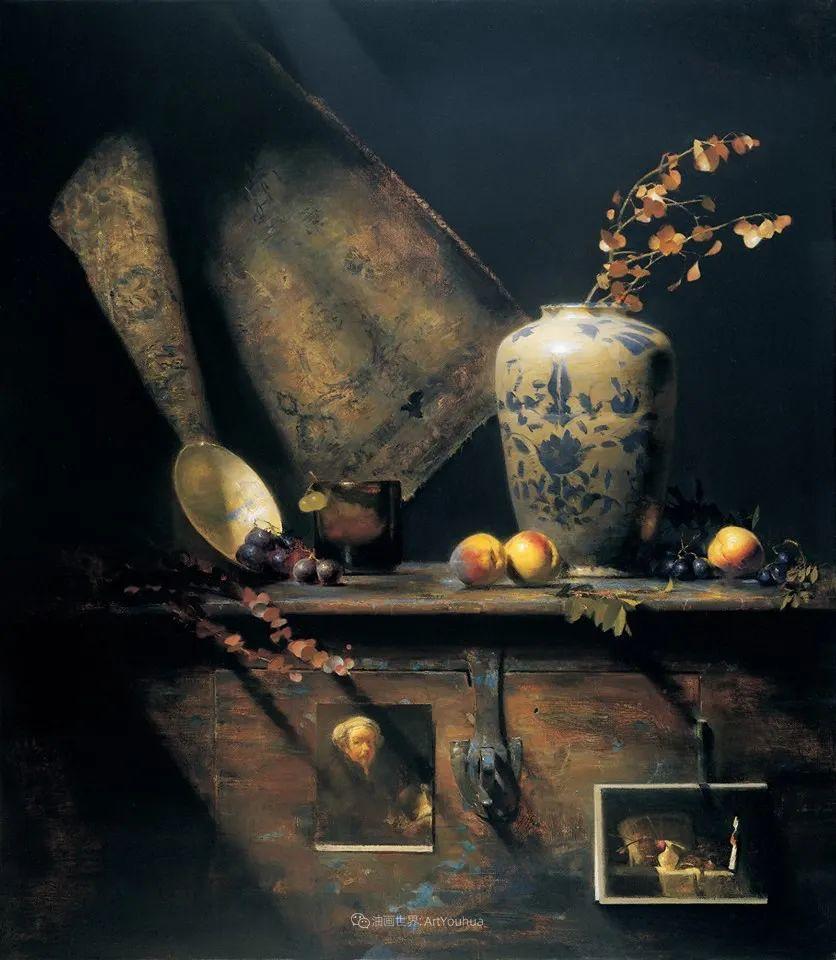 他的古典写实让人神往,美国画家戴维·莱菲尔插图53