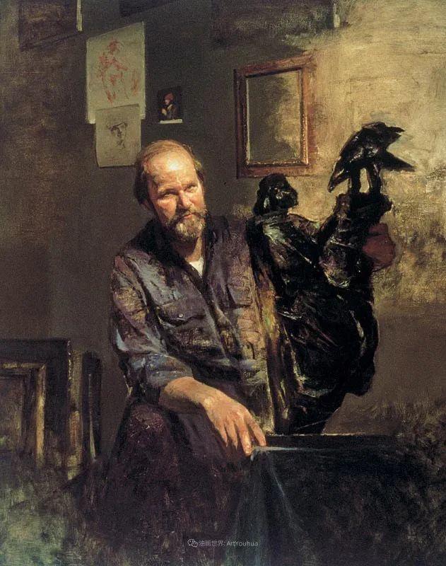 他的古典写实让人神往,美国画家戴维·莱菲尔插图55
