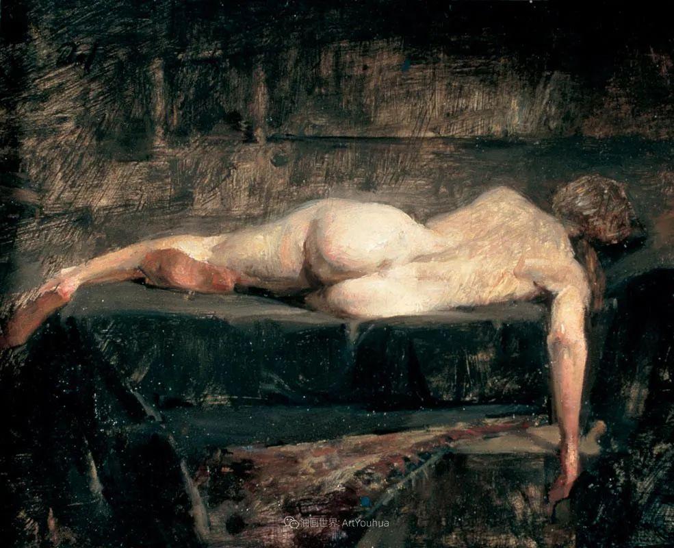 他的古典写实让人神往,美国画家戴维·莱菲尔插图59