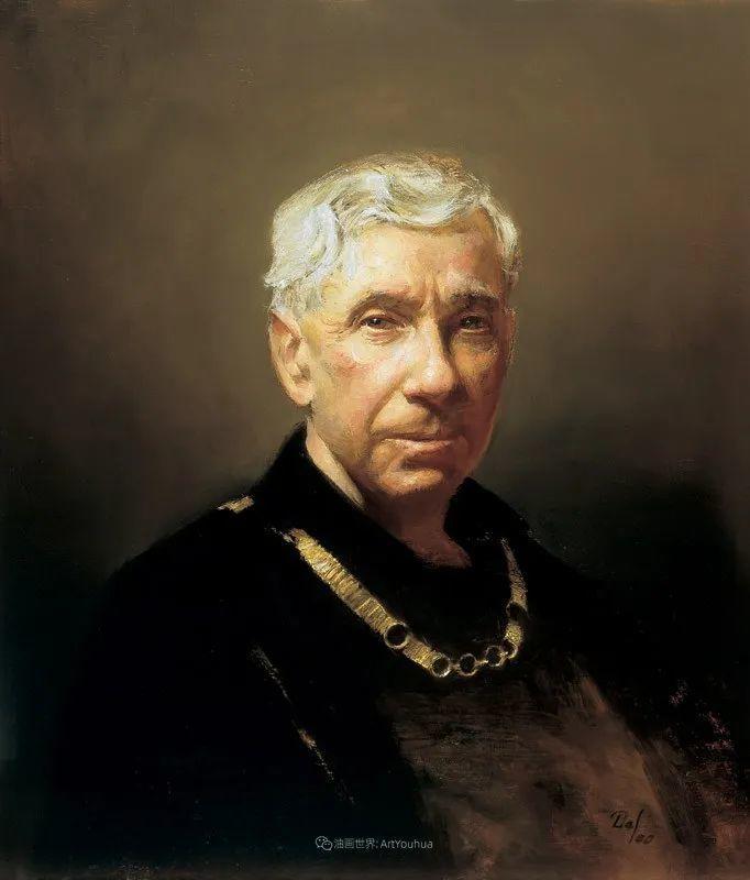 他的古典写实让人神往,美国画家戴维·莱菲尔插图63