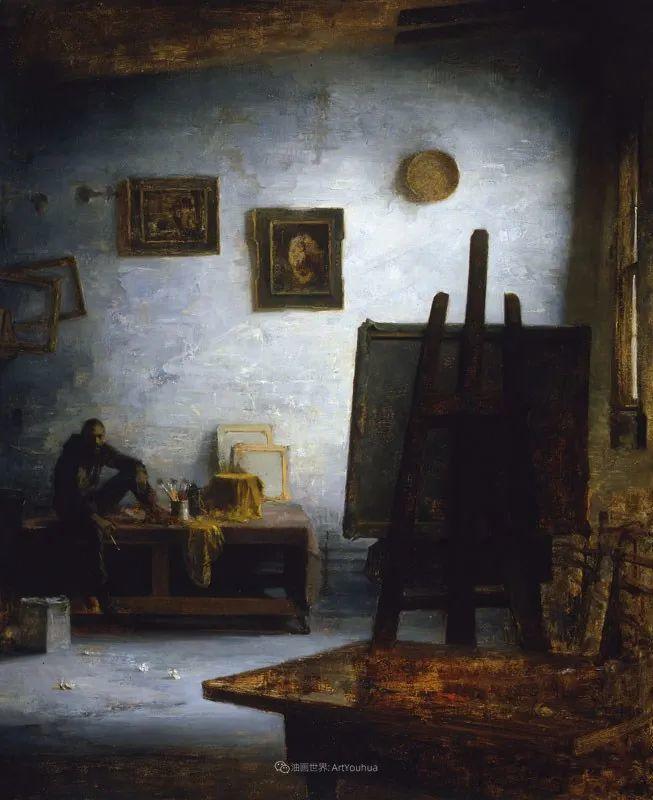 他的古典写实让人神往,美国画家戴维·莱菲尔插图71
