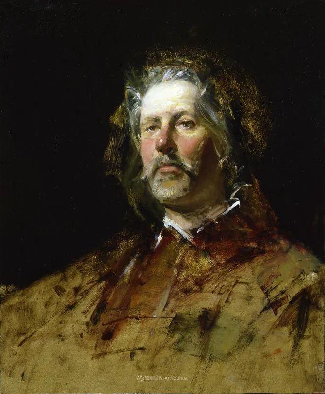 他的古典写实让人神往,美国画家戴维·莱菲尔插图73