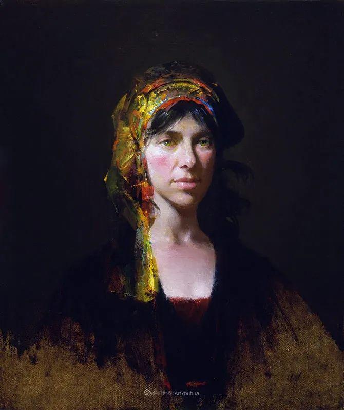 他的古典写实让人神往,美国画家戴维·莱菲尔插图77