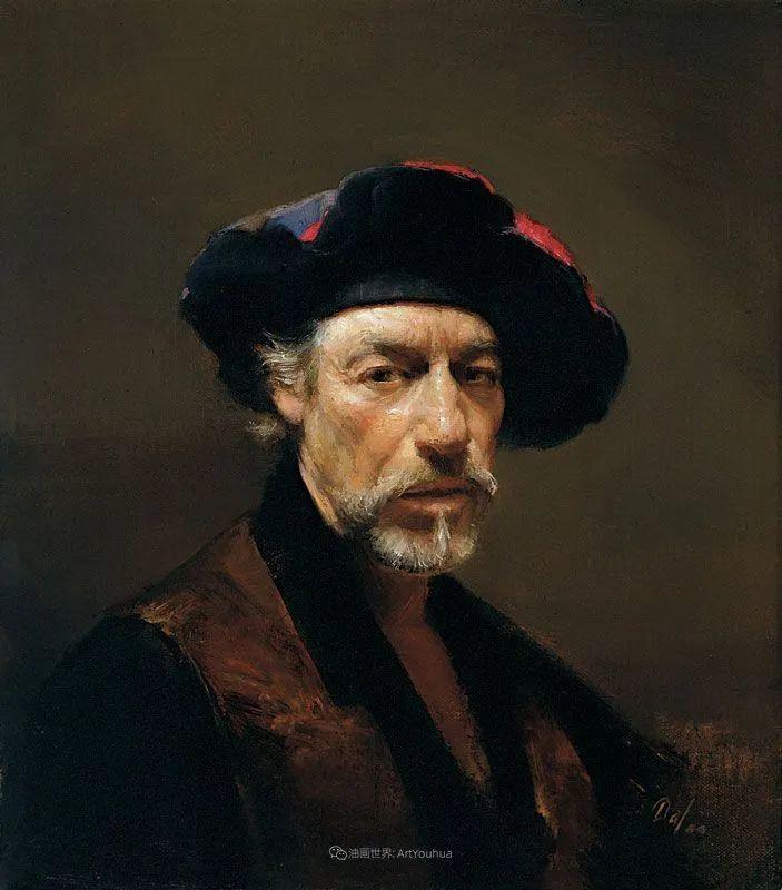 他的古典写实让人神往,美国画家戴维·莱菲尔插图81