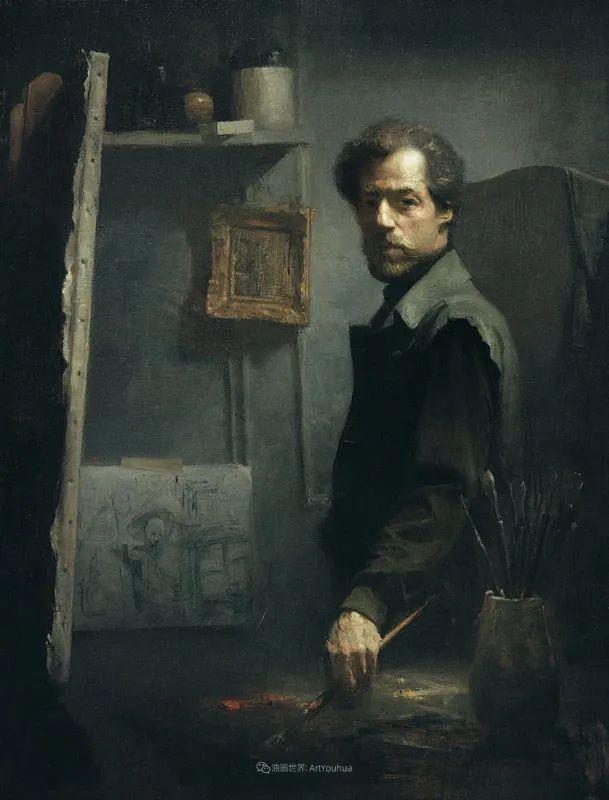 他的古典写实让人神往,美国画家戴维·莱菲尔插图85