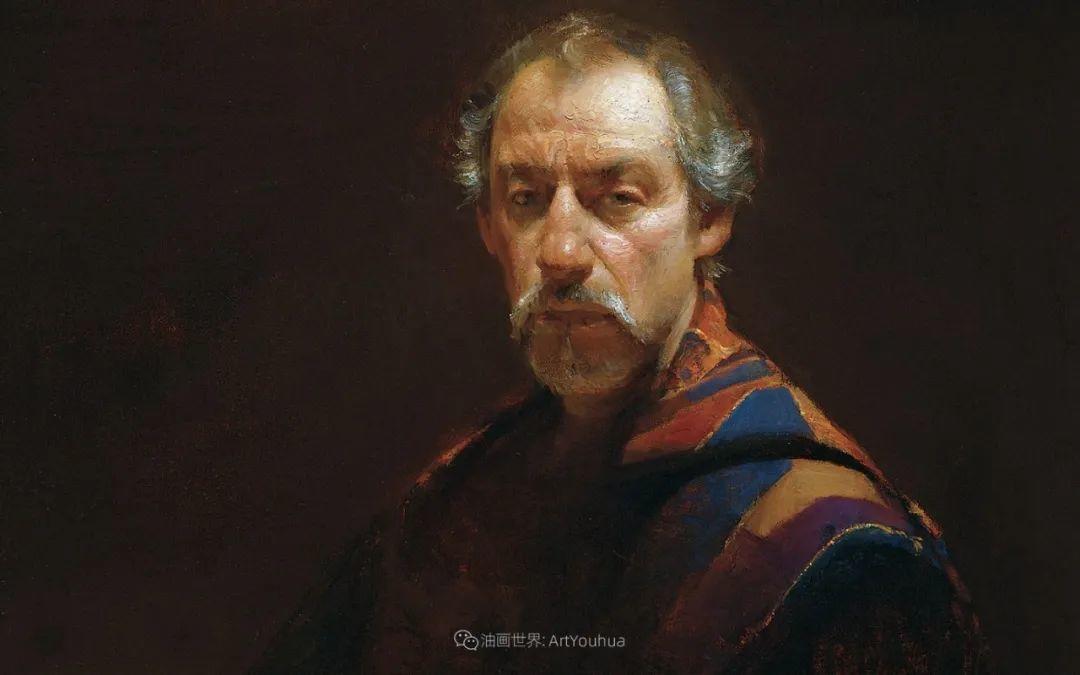 他的古典写实让人神往,美国画家戴维·莱菲尔插图89