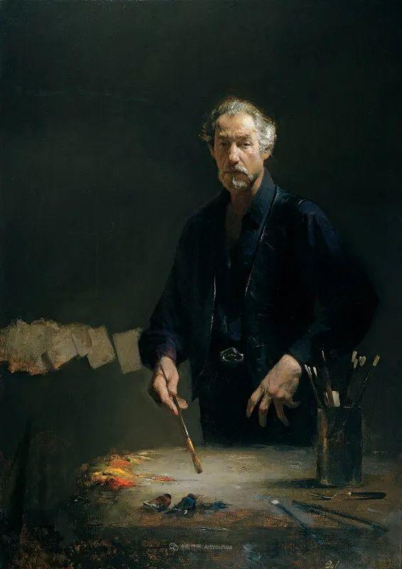 他的古典写实让人神往,美国画家戴维·莱菲尔插图91