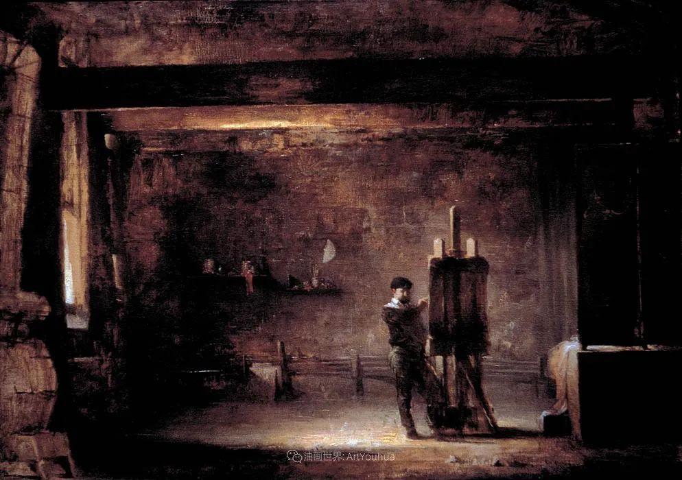 他的古典写实让人神往,美国画家戴维·莱菲尔插图93