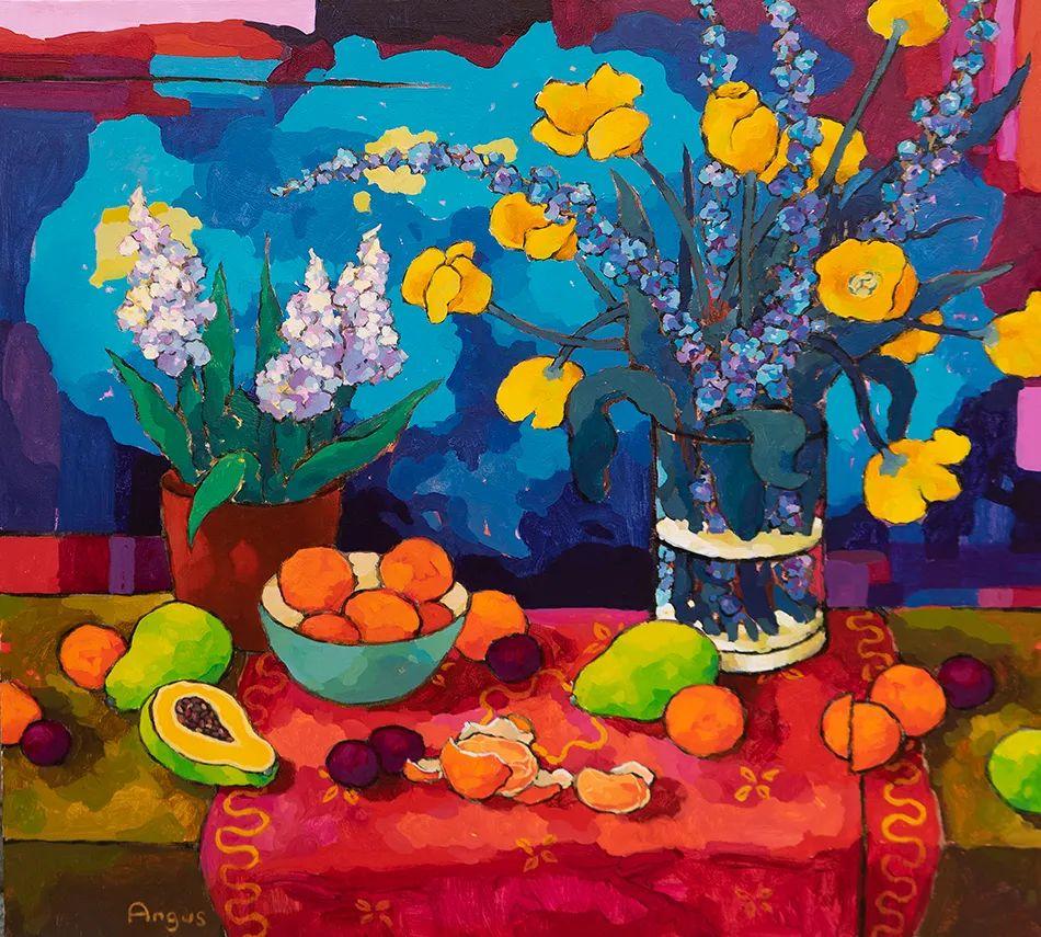 他本无意成为画家,奈何大胆的色彩和独特的构图,太受欢迎!插图1