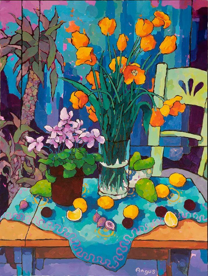 他本无意成为画家,奈何大胆的色彩和独特的构图,太受欢迎!插图5