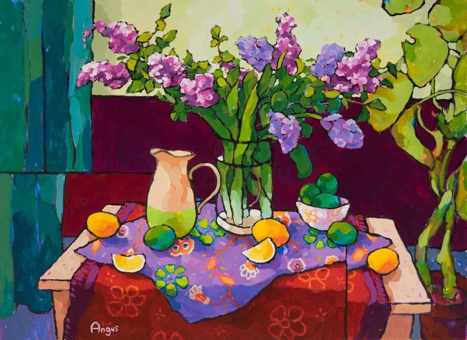他本无意成为画家,奈何大胆的色彩和独特的构图,太受欢迎!插图9