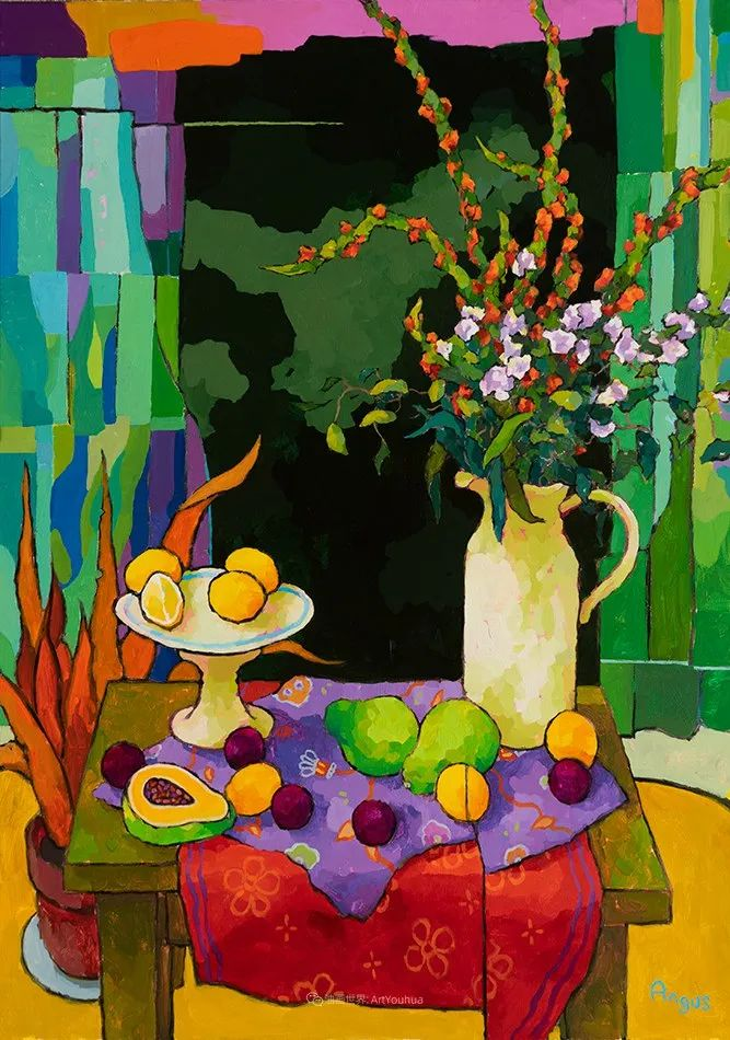 他本无意成为画家,奈何大胆的色彩和独特的构图,太受欢迎!插图11
