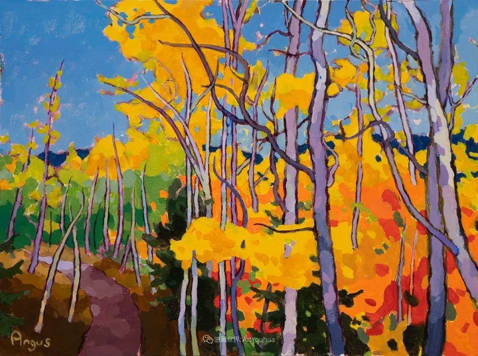 他本无意成为画家,奈何大胆的色彩和独特的构图,太受欢迎!插图23