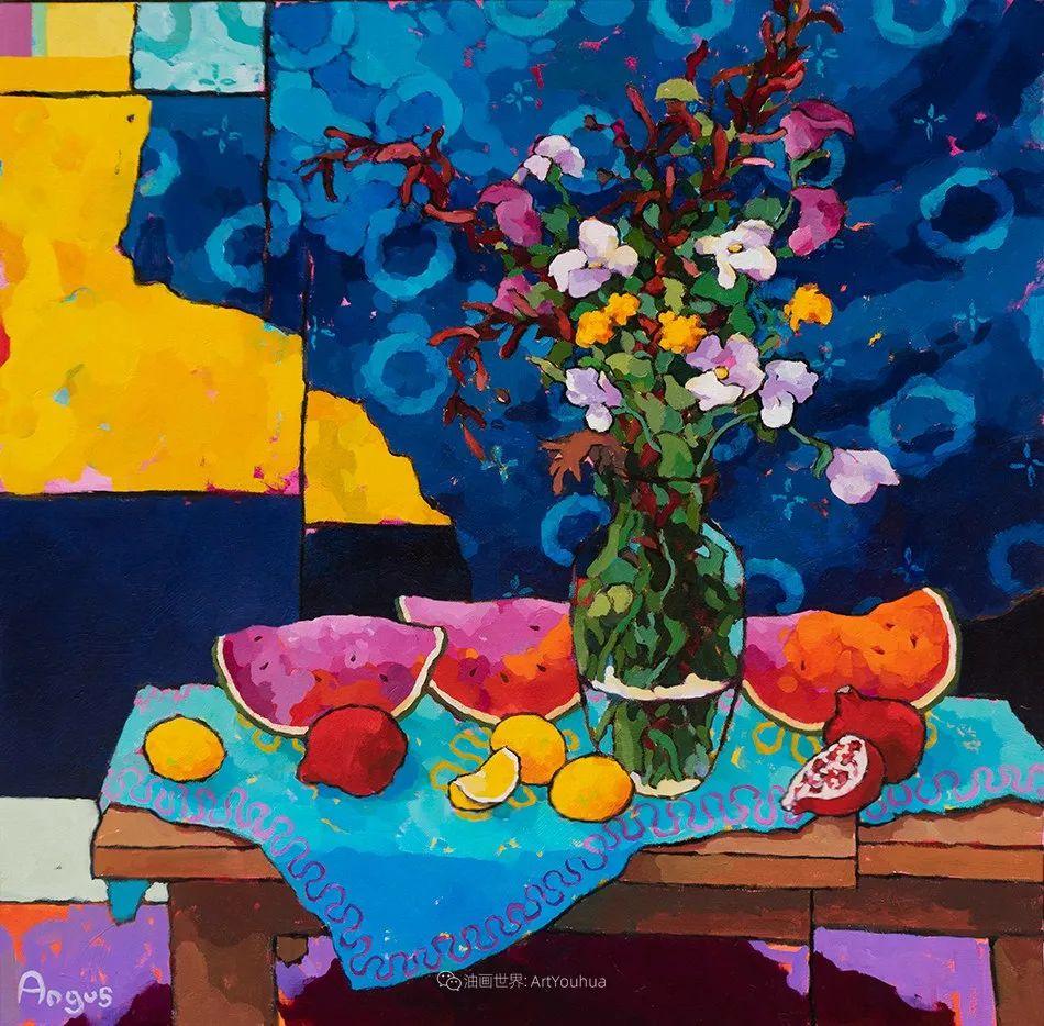 他本无意成为画家,奈何大胆的色彩和独特的构图,太受欢迎!插图25