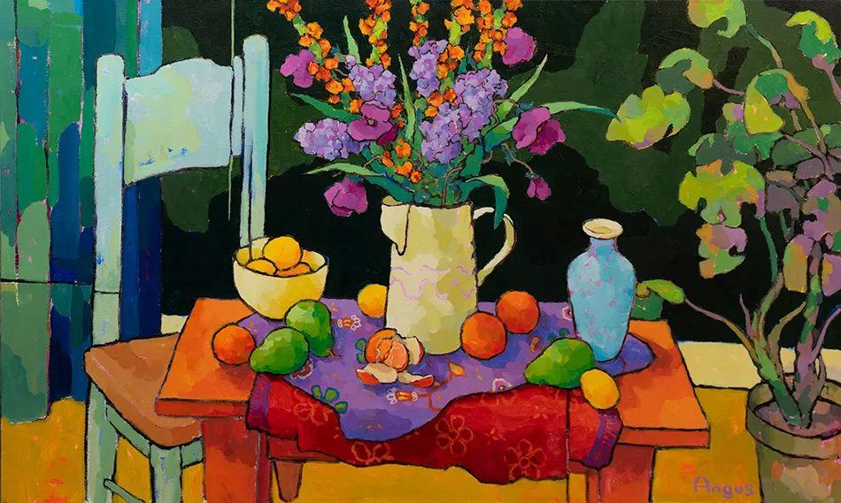 他本无意成为画家,奈何大胆的色彩和独特的构图,太受欢迎!插图33