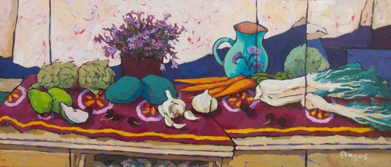 他本无意成为画家,奈何大胆的色彩和独特的构图,太受欢迎!插图41