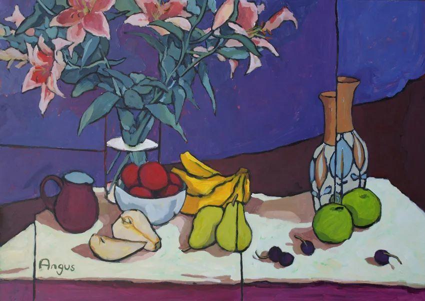 他本无意成为画家,奈何大胆的色彩和独特的构图,太受欢迎!插图43