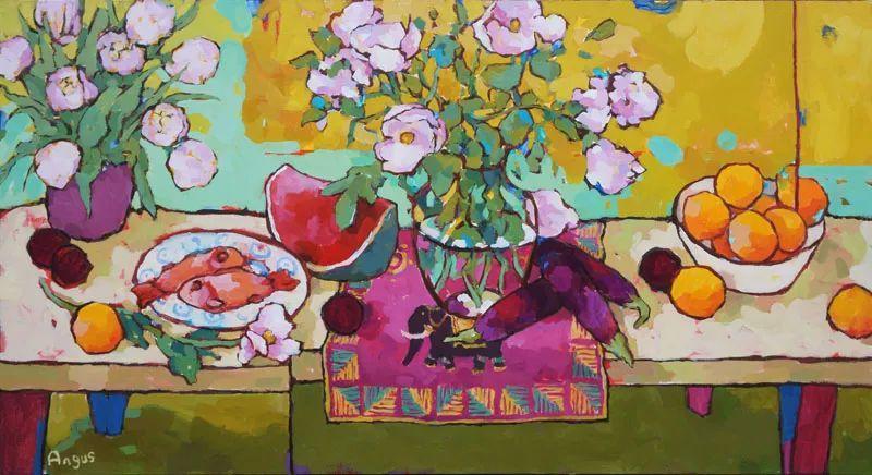 他本无意成为画家,奈何大胆的色彩和独特的构图,太受欢迎!插图45