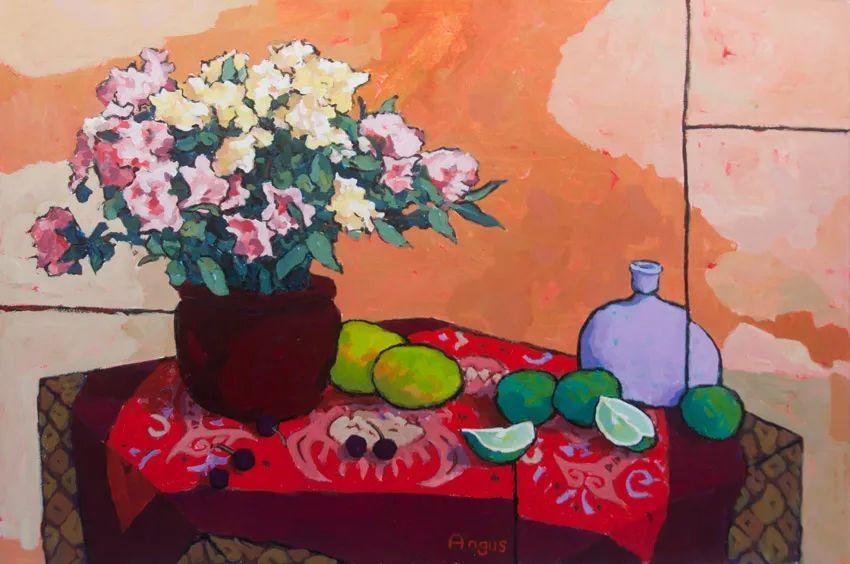 他本无意成为画家,奈何大胆的色彩和独特的构图,太受欢迎!插图49