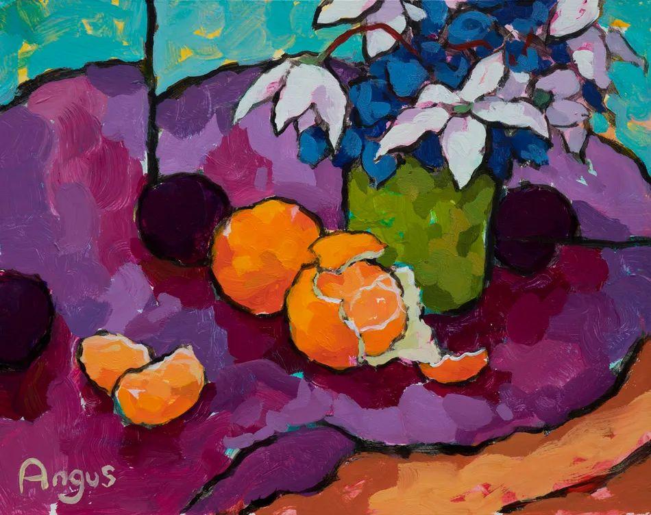 他本无意成为画家,奈何大胆的色彩和独特的构图,太受欢迎!插图55