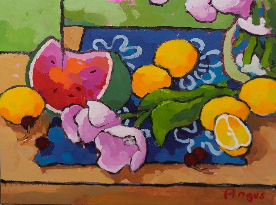 他本无意成为画家,奈何大胆的色彩和独特的构图,太受欢迎!插图57