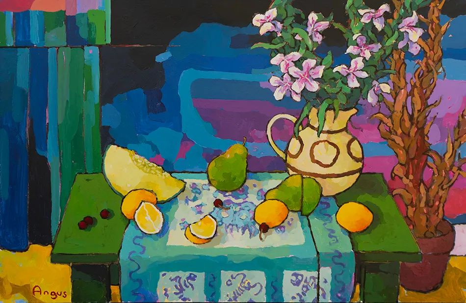 他本无意成为画家,奈何大胆的色彩和独特的构图,太受欢迎!插图69