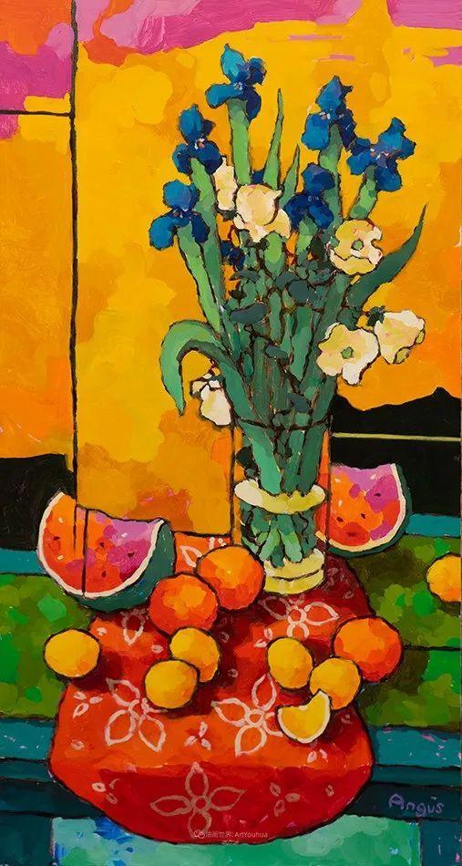他本无意成为画家,奈何大胆的色彩和独特的构图,太受欢迎!插图71