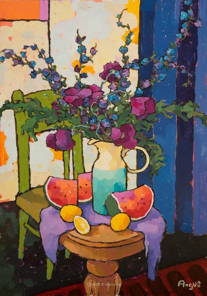 他本无意成为画家,奈何大胆的色彩和独特的构图,太受欢迎!插图83