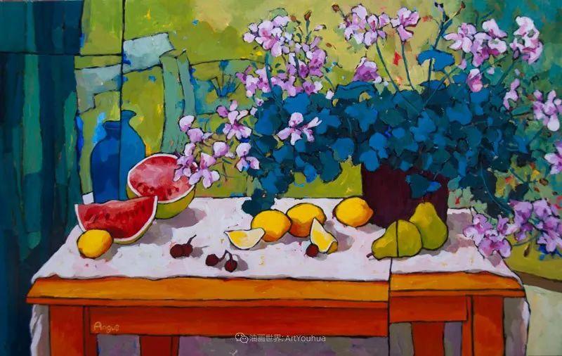 他本无意成为画家,奈何大胆的色彩和独特的构图,太受欢迎!插图85