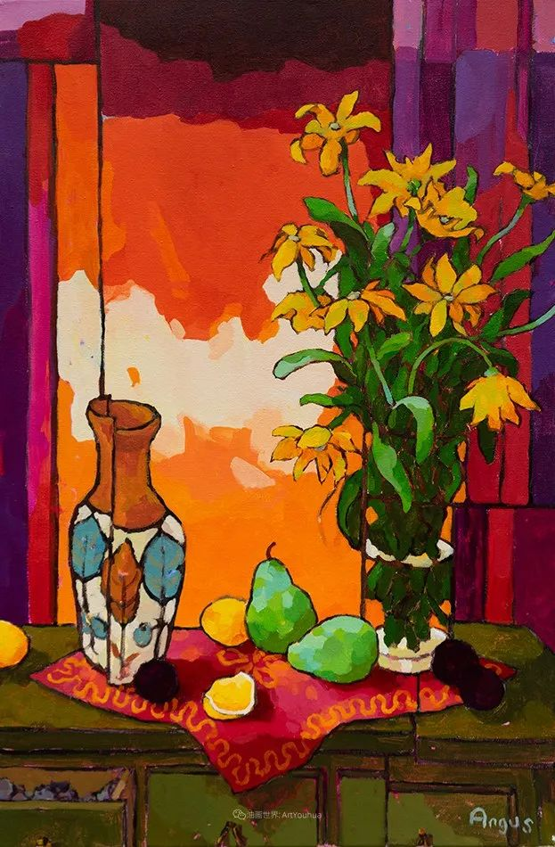 他本无意成为画家,奈何大胆的色彩和独特的构图,太受欢迎!插图91