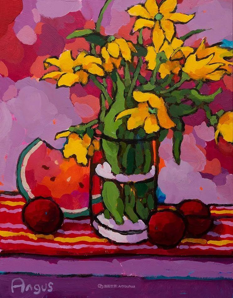 他本无意成为画家,奈何大胆的色彩和独特的构图,太受欢迎!插图103