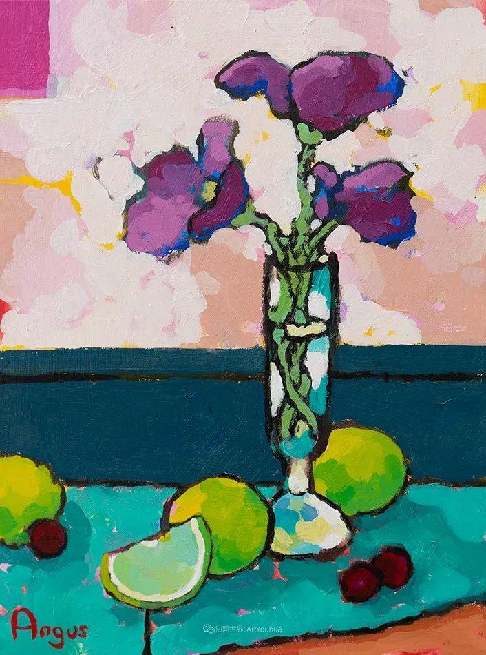 他本无意成为画家,奈何大胆的色彩和独特的构图,太受欢迎!插图105