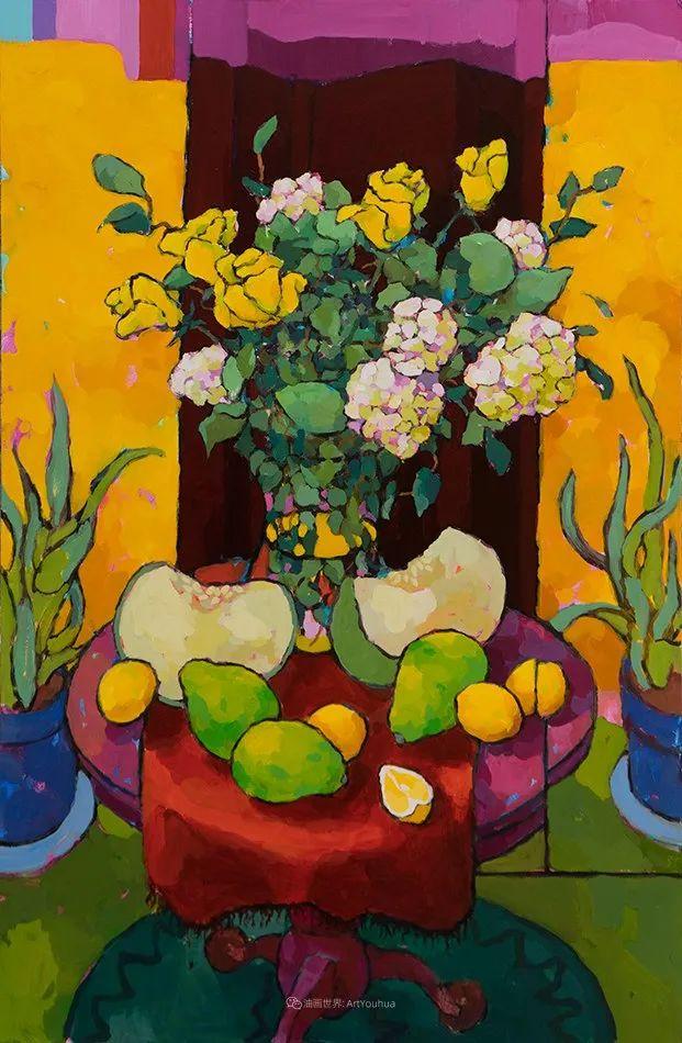 他本无意成为画家,奈何大胆的色彩和独特的构图,太受欢迎!插图107