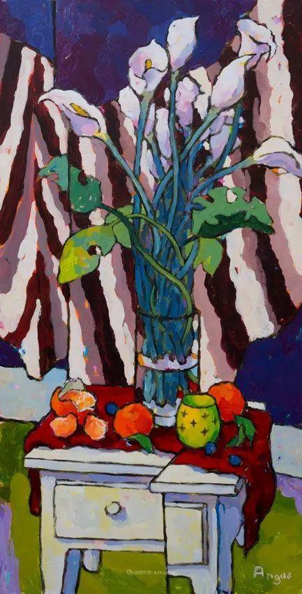 他本无意成为画家,奈何大胆的色彩和独特的构图,太受欢迎!插图113