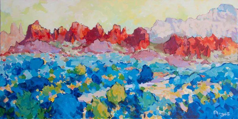 他本无意成为画家,奈何大胆的色彩和独特的构图,太受欢迎!插图123