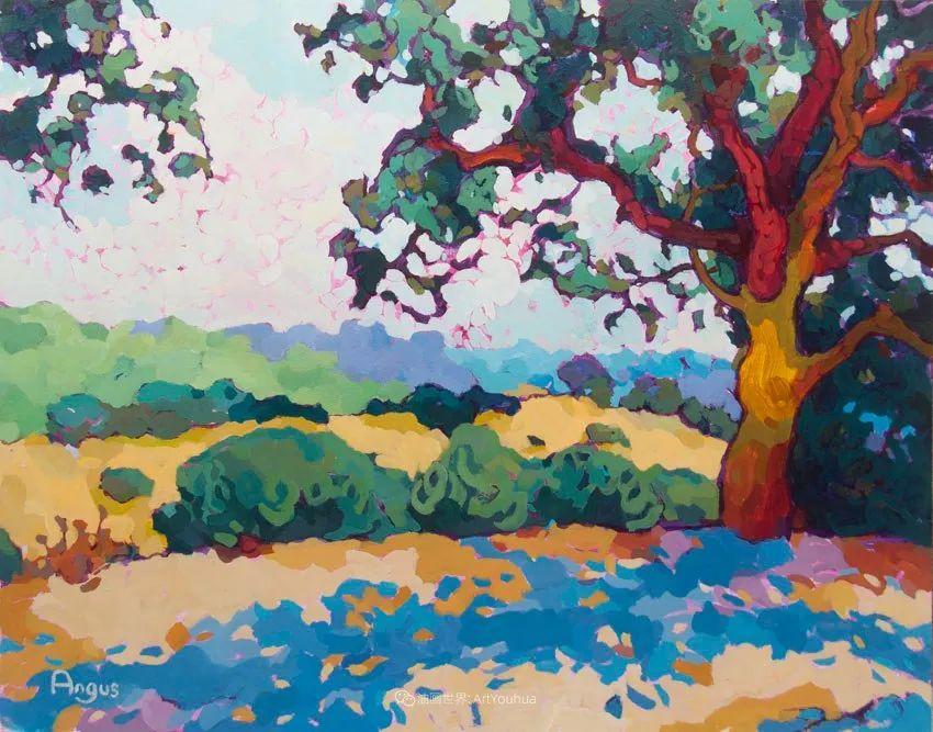 他本无意成为画家,奈何大胆的色彩和独特的构图,太受欢迎!插图125