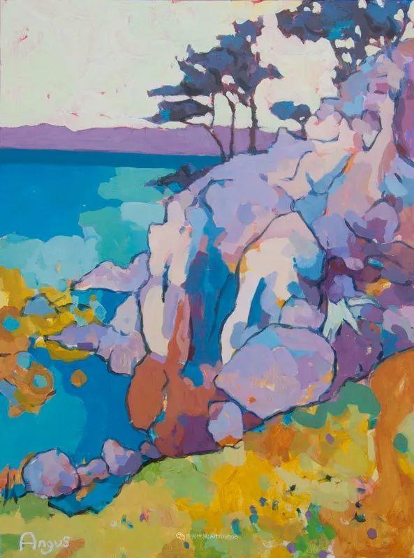 他本无意成为画家,奈何大胆的色彩和独特的构图,太受欢迎!插图133