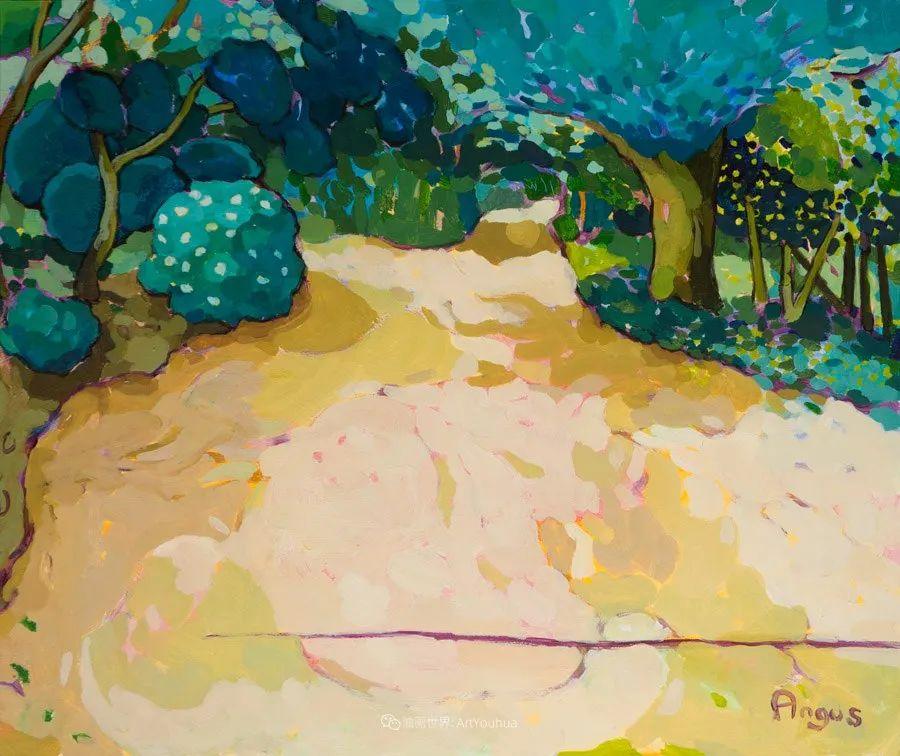 他本无意成为画家,奈何大胆的色彩和独特的构图,太受欢迎!插图135