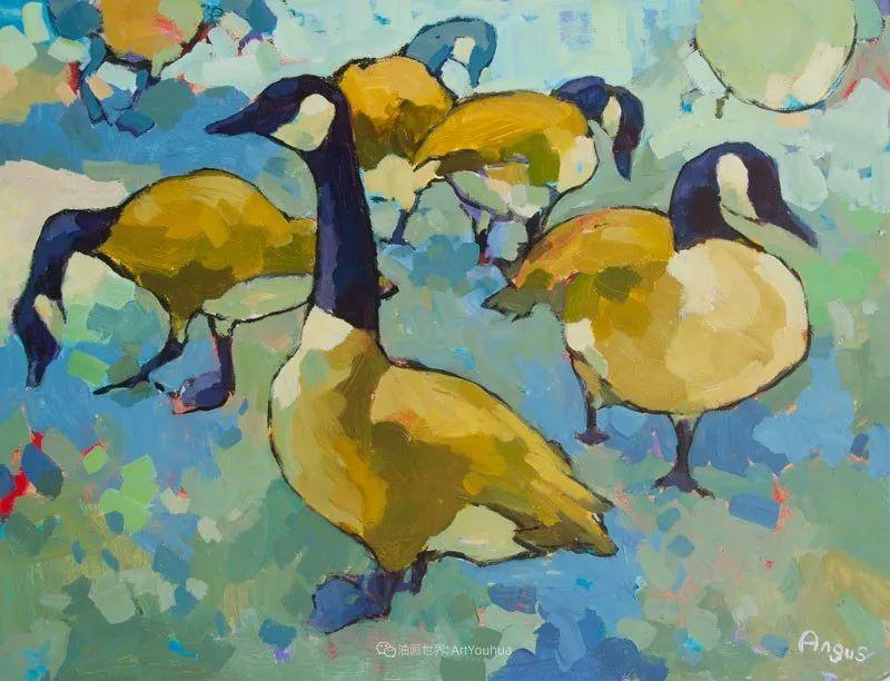 他本无意成为画家,奈何大胆的色彩和独特的构图,太受欢迎!插图139