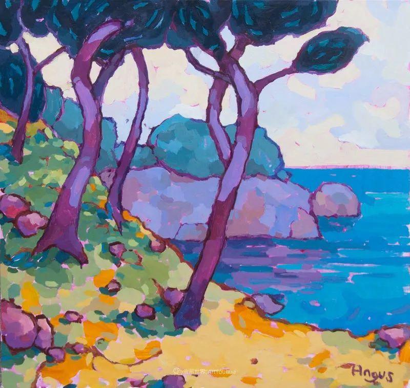 他本无意成为画家,奈何大胆的色彩和独特的构图,太受欢迎!插图141
