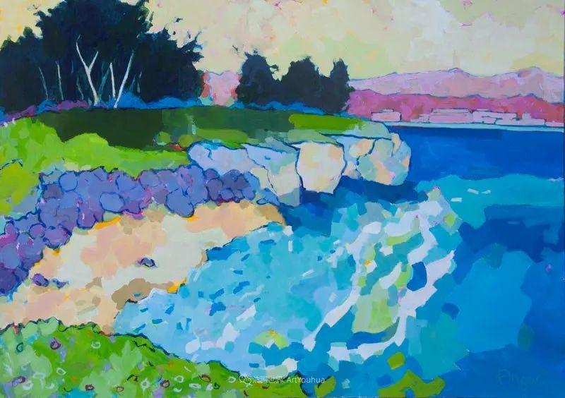 他本无意成为画家,奈何大胆的色彩和独特的构图,太受欢迎!插图145