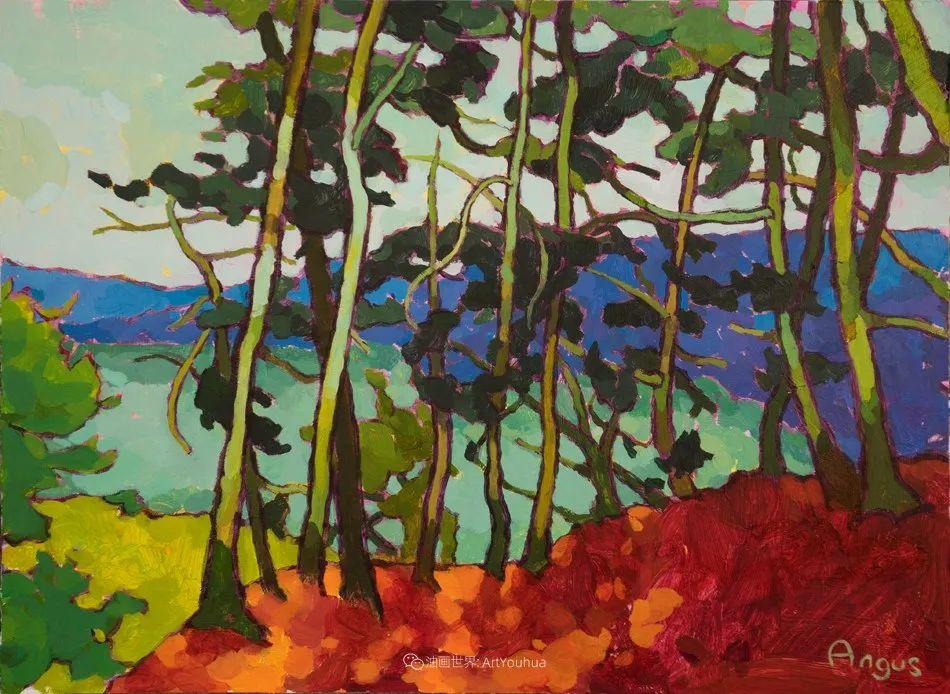 他本无意成为画家,奈何大胆的色彩和独特的构图,太受欢迎!插图149