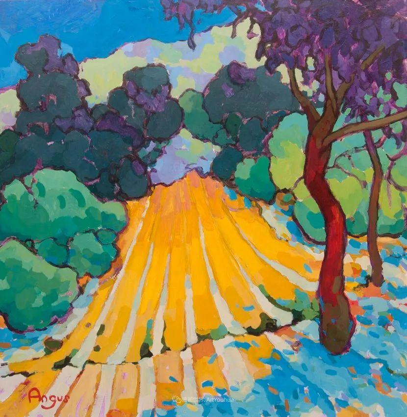 他本无意成为画家,奈何大胆的色彩和独特的构图,太受欢迎!插图151