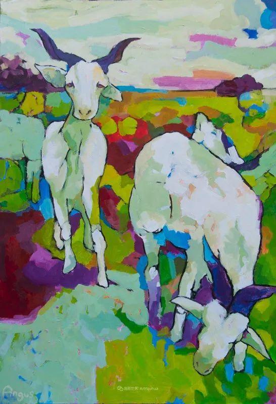 他本无意成为画家,奈何大胆的色彩和独特的构图,太受欢迎!插图155