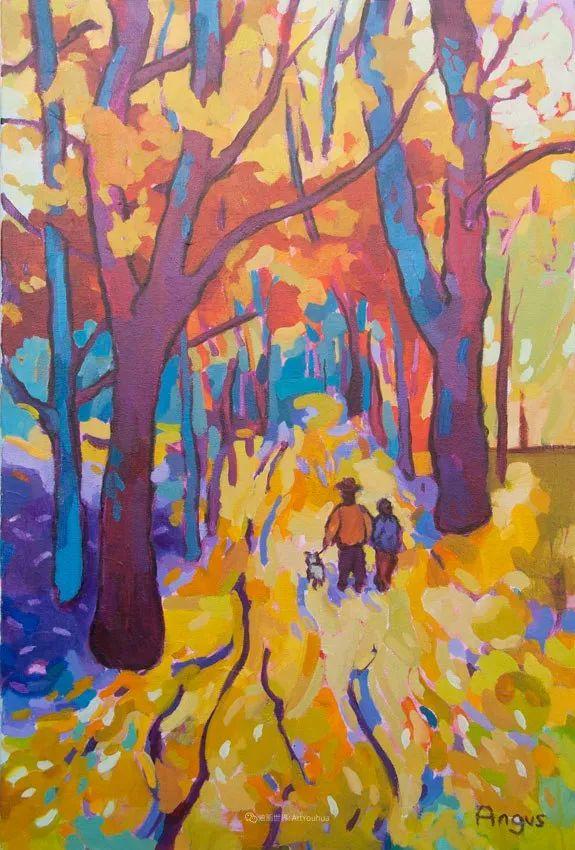 他本无意成为画家,奈何大胆的色彩和独特的构图,太受欢迎!插图161